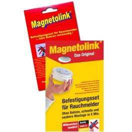 Magnetolink support aimanté pour détecteur de fumée